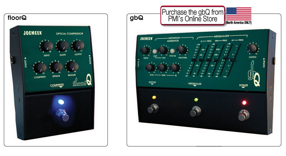 JoeMeek gbQ Distortion Generator Pedal